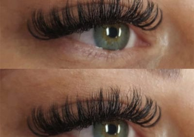 Russian Eyelash Extensions by Charlett Lyne at Glow Lash & Brow Bar Saltash & Plymouth