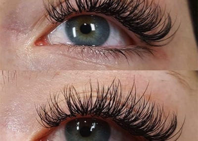 Hybrid Classic Eyelash Extensions by Charlett Lyne at Glow Lash & Brow Bar Saltash & Plymouth