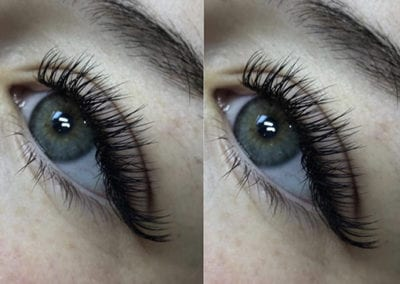 Beautiful Feminine Classic Eyelash Extensions by Morgan Brady Lash Technician at Glow in Saltash & Plymouth