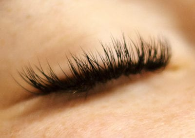Thick, Full and Fluffy Eyelash Extensions by Morgan Brady at Glow Lash & Brow Bar Saltash & Plymouth