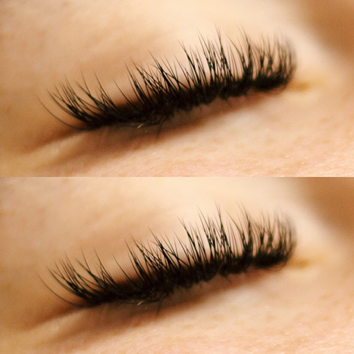 Classic Eyelash Extensions by Morgan Brady at Glow Lash & Brow Bar Saltash & Pymouth