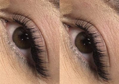 Feminine Cat Eye Classic Eyelash Extensions by Morgan Brady at Glow Lash & Brow Bar Saltash & Plymouth