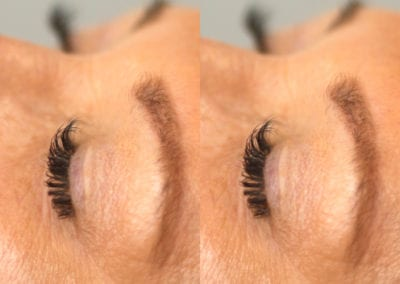 Classic Eyelash Extensions After an Eyelash Clean by Rio Anderson at Glow Lash & Brow Bar Saltash & Plymouth