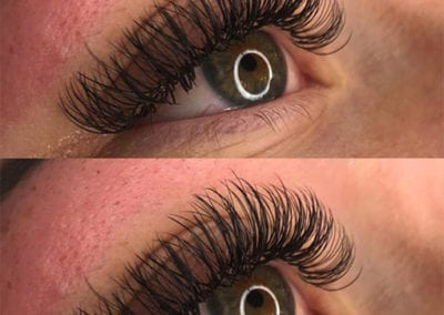 Long, Thick & Full Classic Eyelash Extensions by Rio Anderson at Glow Lash & Brow Bar Saltash & Plymouth