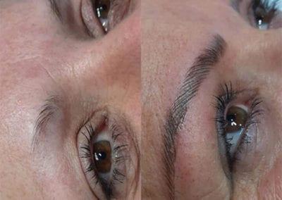 Regain & Define Lost Eyebrows With Microblading by Charlett Lyne at Glow Lash & Brow Bar Saltash & Plymouth
