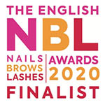 NBL Logo 2020 Nails Brows Lashes Awards Finalists 2020