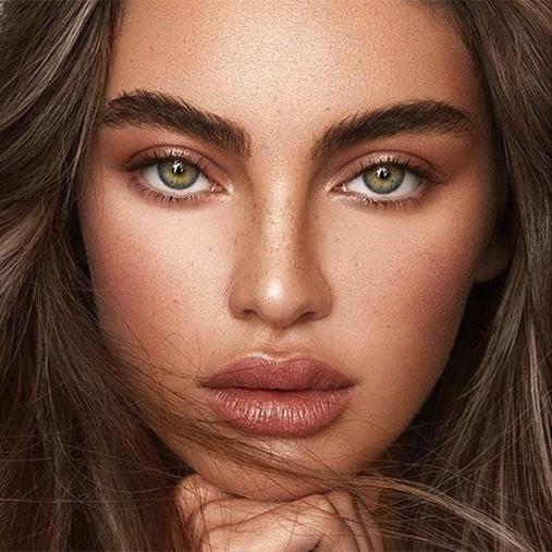 Beauty portrait brows green eyes glow saltash plymouth