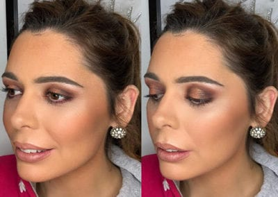 Browns and Highlighter Makeup by Glow in Saltash and Plymouth