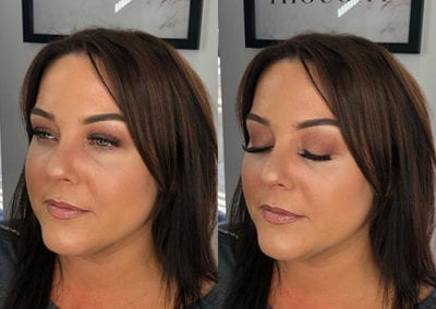Soft glam Makeup by Glow in Saltash and Plymouth