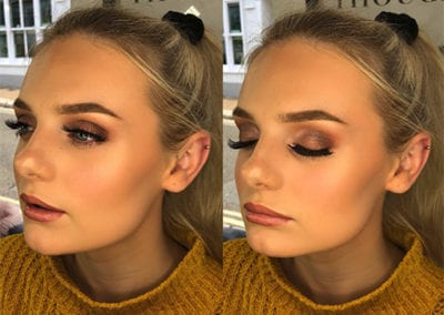 Autumn Gold & Brown Makeup By Danielle Northcott at Glow Lash & Brow Bar Saltash & Plymouth
