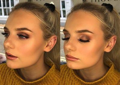 Autumn Gold & Brown Makeup By Danielle Northcott at Glow Lash & Brow Bar Saltash & Plymouth