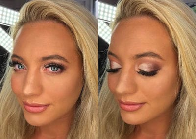 Glam Bridesmaids Makeup by Glow in Saltash and Plymouth