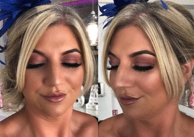 Wedding guest makeup by Glow in Saltash and Plymouth