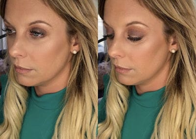 Warm browns and gold Makeup by Glow in Saltash and Plymouth