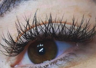 Cashmere V Eyelash Extensions by Charlett Lyne at Glow Lash & Brow Bar Saltash & Plymouth