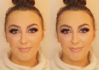 Pink Eyeshadow Makeup by Bridie at Glow Lash & Brow Bar Saltash & Plymouth