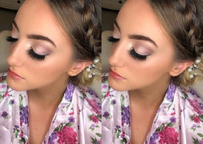 Bridesmaids Makeup by Glow in Plymouth and Saltash