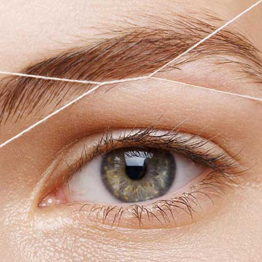 Brow Threading in Saltash