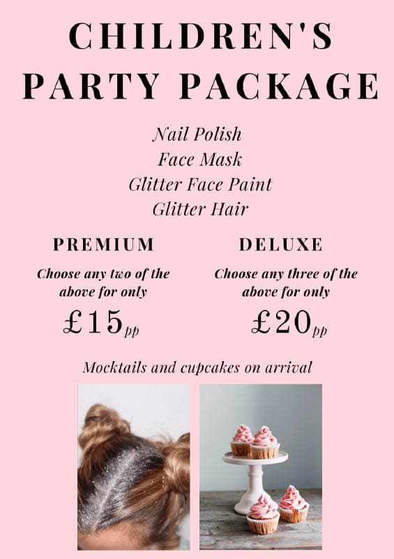 Children's Party Package